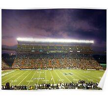 Aloha Stadium at Night Poster