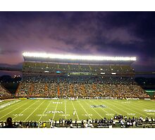 Aloha Stadium at Night Photographic Print