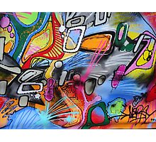 Abstract street art 2 Photographic Print