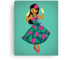 Girl of Adventure Canvas Print