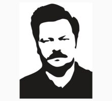 Ron Swanson - Parks and Recreation Kids Clothes