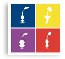 Pikmin Blocks Canvas Print