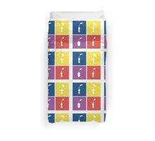 Pikmin Blocks Duvet Cover