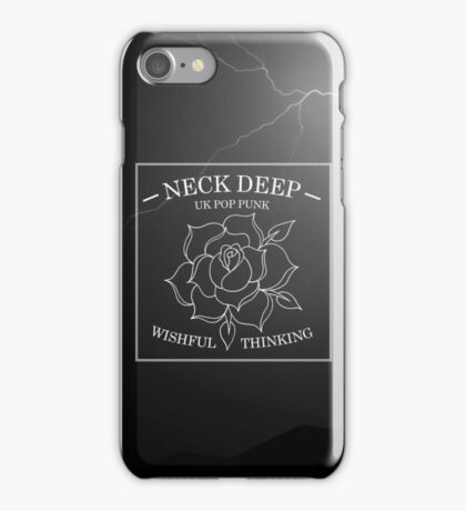 neck deep - wishful thinking iPhone Case/Skin