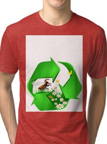 recycling Tri-blend T-Shirt