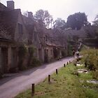 Row houses, Bibury, Gloucestershire by BronReid