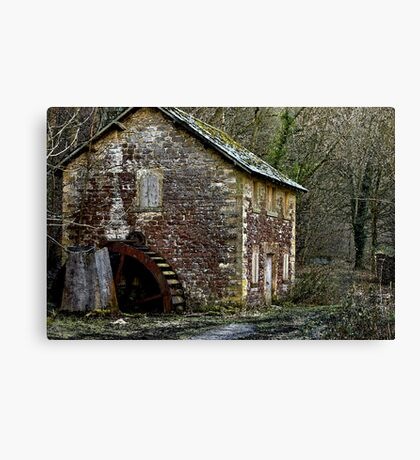 Water Colours Canvas Print
