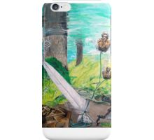 The feather and the Word iPhone Case/Skin