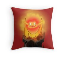 Calcifer is Sauron ! Throw Pillow