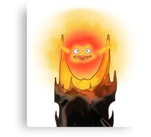 Calcifer is Sauron ! Canvas Print