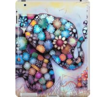 Little Sunshine the Patchwork Elephant iPad Case/Skin