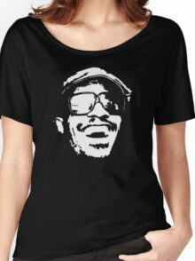 stencil Stevie Wonder Women's Relaxed Fit T-Shirt