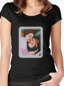 ETERNITY FOR 2 Women's Fitted Scoop T-Shirt
