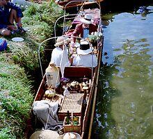 ready to picnic, Henley-on-Thames regatta by BronReid