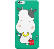 Kind calf with milk iPhone Case/Skin