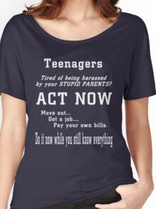 Teenagers Women's Relaxed Fit T-Shirt