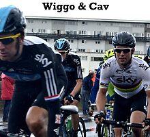 Wiggo & Cav by JamesRannoch