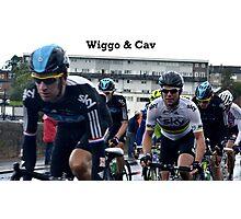Wiggo & Cav Photographic Print