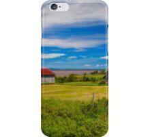 Old Barns at Burnthead Cove, Nova Scotia iPhone Case/Skin