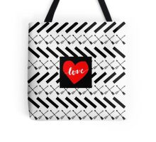 Love Arrows  Tote Bag