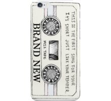 brand new - mixtape iPhone Case/Skin