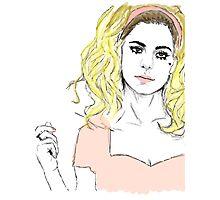 Marina & The Diamonds Photographic Print