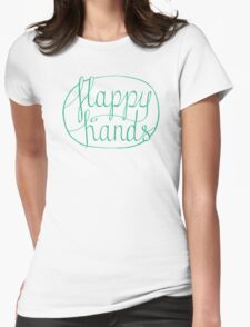 FLAPPY HANDS are HAPPY HANDS - Turquoise T-Shirt