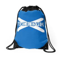 Freedom for Scotland Drawstring Bag