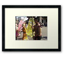 Chiang Mai Parade. Framed Print