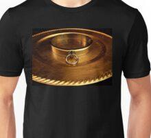 Gold Slave Collar  Unisex T-Shirt