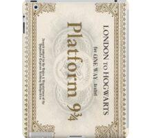 Hogwarts Express Ticket iPad Case/Skin