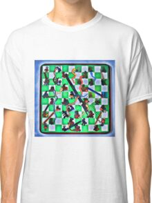 Ghostly Snake Game Classic T-Shirt