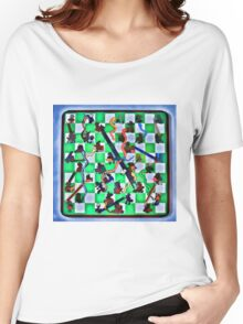Ghostly Snake Game Women's Relaxed Fit T-Shirt