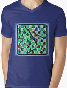 Ghostly Snake Game Mens V-Neck T-Shirt