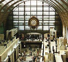 Musee d'Orsay, Paris by BronReid