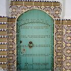 Aqua Moroccan door by fionapine