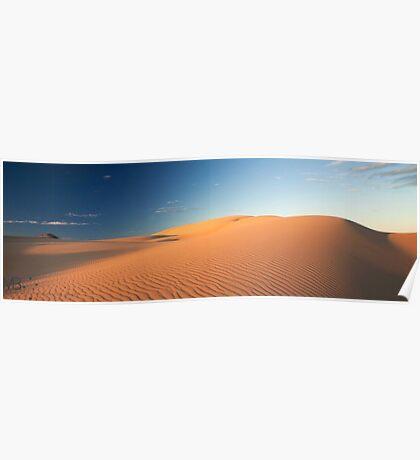 Sand Dunes, Ningaloo Poster