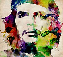Che Guevara Urban Art by Michael Tompsett