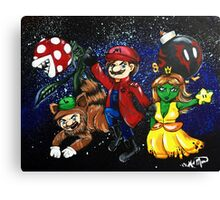 Plumbers of the Galaxy Canvas Print