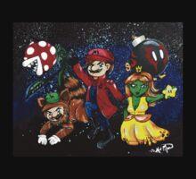 Plumbers of the Galaxy Kids Tee