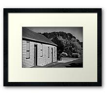 Mt Roland, Sheffield Tasmania Framed Print