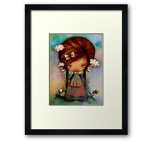 Little Shepherd Girl Framed Print