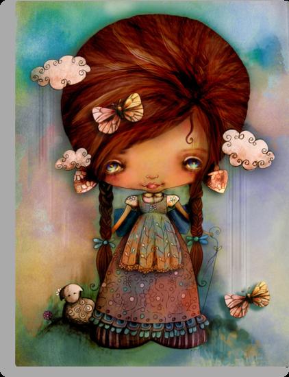 Little Shepherd Girl by © Karin  Taylor