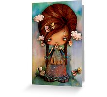 Little Shepherd Girl Greeting Card