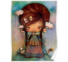 Little Shepherd Girl Poster