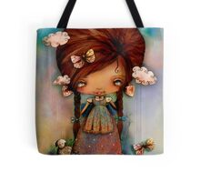 Little Shepherd Girl Tote Bag