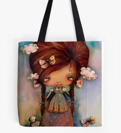 Little Shepherd Girl Tote Bag