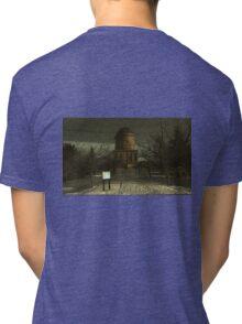 Hamilton Mausoleum , on the Dark Side Tri-blend T-Shirt