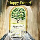 Happy Easter - Jesus is risen! by Caroline  Lembke