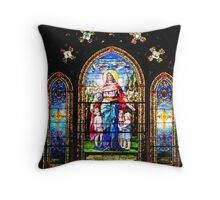 Her Children arise up and call her Blessed Throw Pillow